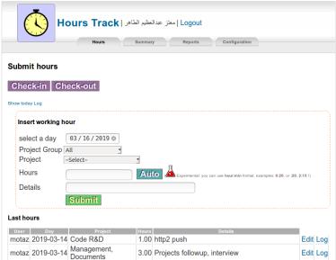 hourstrack